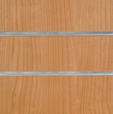 1009A Cherry Slatwall Panel 8ft x 4ft (2400mm x 1200mm)