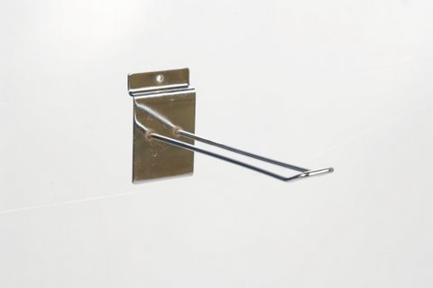 "10528 Slatwall 4"" Euro Hook Box of 100(F528)"